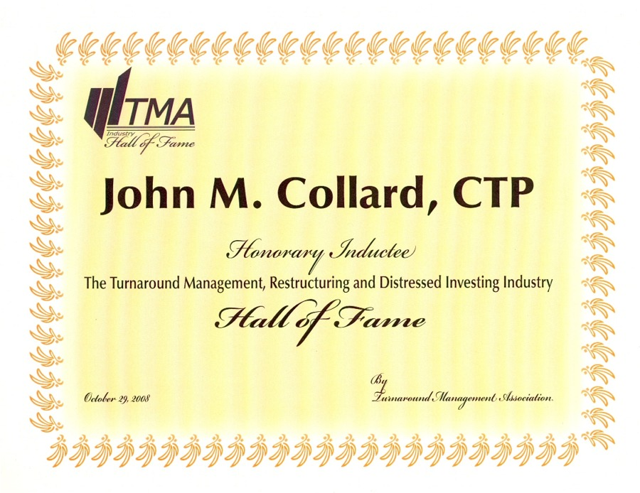 Turnaround Management Hall of Fame